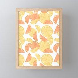 14 Citrus Showers Framed Mini Art Print