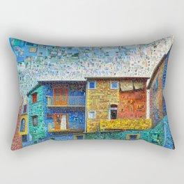 Buenos Aires Travel Collage Rectangular Pillow