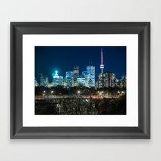 Urban Nights, Urban Lights #7 Framed Art Print