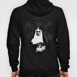 Nun Nun Corners Pentagram SatanDark Evil Demon Hoody