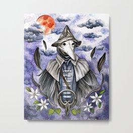 Eileen the Crow - Bloodborne Metal Print