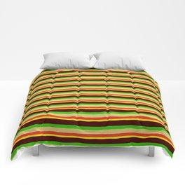 Burger Pattern Comforters