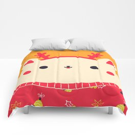 Merry Christmas Bear Comforters