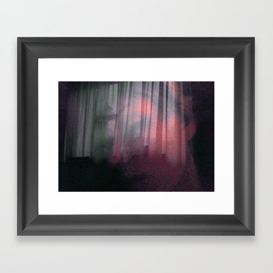 Calm in our haven Framed Art Print