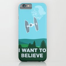 I WANT TO BELIEVE - Star Wars Slim Case iPhone 6