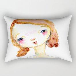 Sweet Face Rectangular Pillow