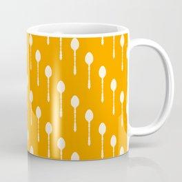 Spoons Pattern (Orange) Coffee Mug