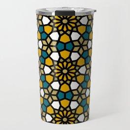 Persian Mosaic – Marigold Palette Travel Mug