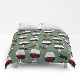 Cigar and Cognac Comforters