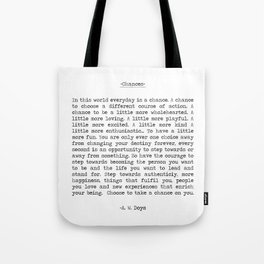 Chances Tote Bag