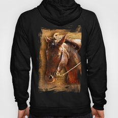 Portrait of a Working Horse Hoody