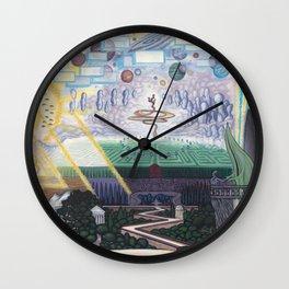 Away We Go Wall Clock