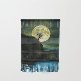 The Moon and the Tree. Wall Hanging