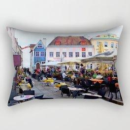 Tallinn restaurants Rectangular Pillow