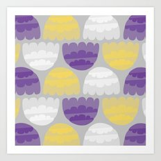 Jelly-fish Art Print
