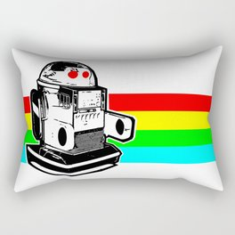 Robo Rainbow Rectangular Pillow