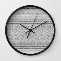 Hieroglyphs of Transportation Wall Clock