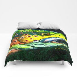 Trout Head Comforters