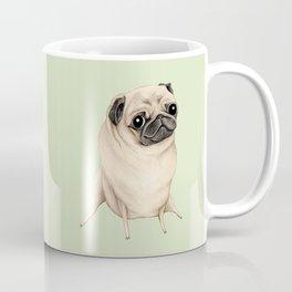 Sweet Fawn Pug Coffee Mug