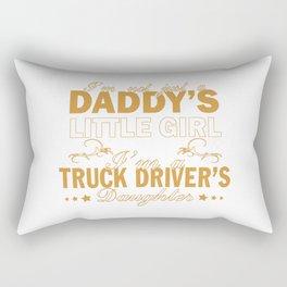 I'm a Truck Driver's Daughter Rectangular Pillow