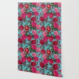 Vintage & Shabby Chic - Summer Tropical Garden I Wallpaper