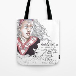Children of blood and bone Tote Bag