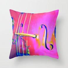 Hot Bass Miller Throw Pillow