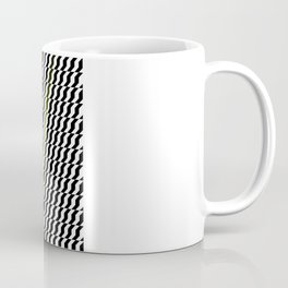 A Stripe of Green Coffee Mug