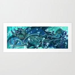The Dreamer Awakes Art Print