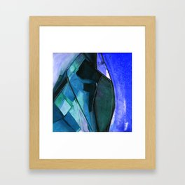 Abstraction 317I by Kathy Morton Stanion Framed Art Print