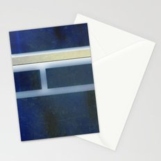 collage: rusted blue Stationery Cards