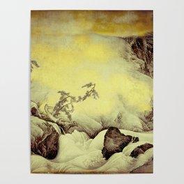 A Golden Winter Poster