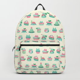 Choco Mint Rabbit Backpack
