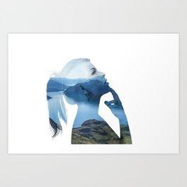 Serenity One Art Print