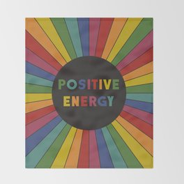 Positive Energy Throw Blanket