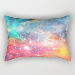 Interstellar Magic Dream - Starry Space Rectangular Pillow