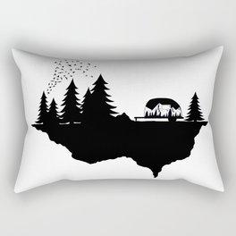 In the wild Rectangular Pillow