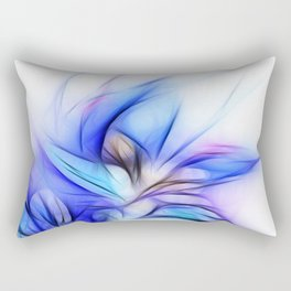 Night Bloom Invert Rectangular Pillow