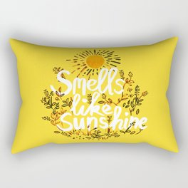 Smells Like Sunshine Rectangular Pillow