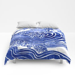 Churn The Deep Comforters