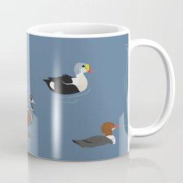 Ducks and a Loon Coffee Mug