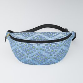Blues and Greens Fanny Pack
