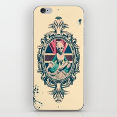 Bourgeoisie Woman iPhone & iPod Skin