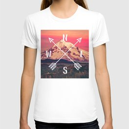 Snowy Mountain Compass T-shirt