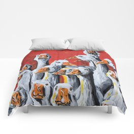 Gaggle of Geese Comforters