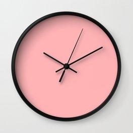 Bubblegum Pink Wall Clock