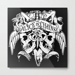 alice in chains logo tour 2020 2021 ngapril Metal Print
