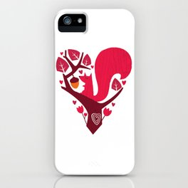 Nuts About You iPhone Case