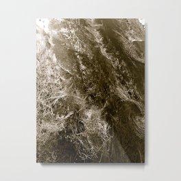 Circulation Metal Print