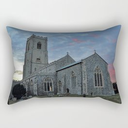 St Mary's Church Happisburgh Rectangular Pillow